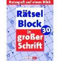 Rätselblock 30 in großer Schrift [Bro...