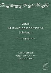 Neues Musikwissenschaftliches Jahrbuc...